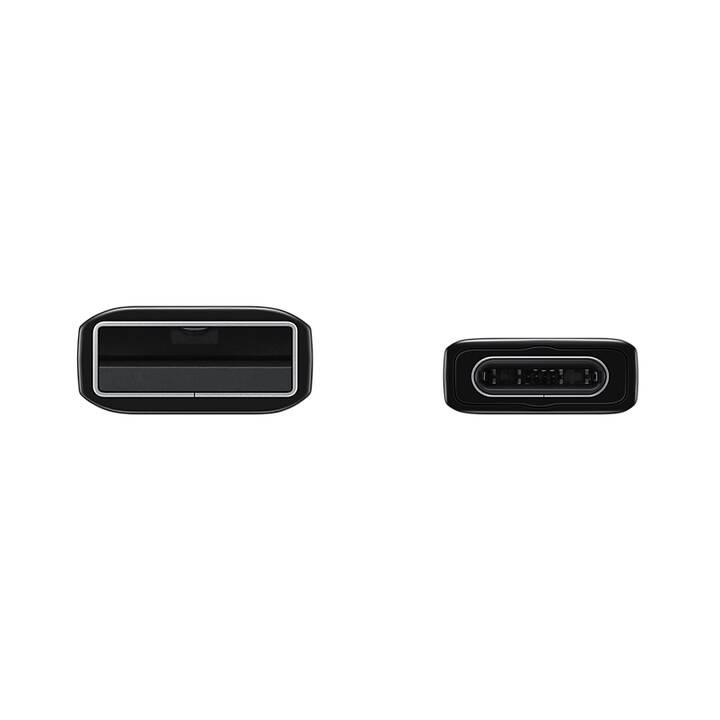 Samsung EP-DG930 1.5m USB A USB C Schwarz USB Kabel