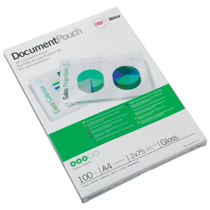 GBC Films de plastification (A4, 125 µm, 100 pezzo)