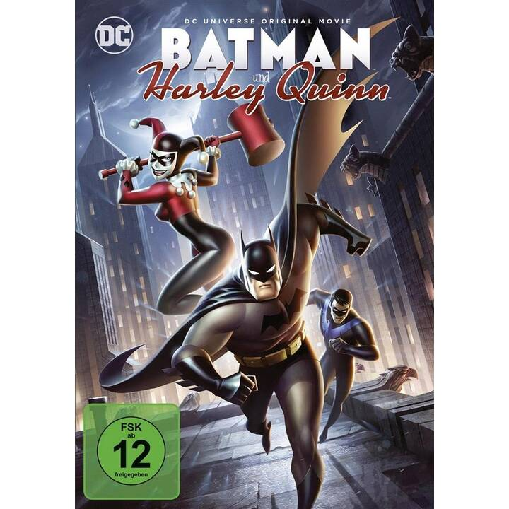 Batman und Harley Quinn (ES, DE, EN, FR)