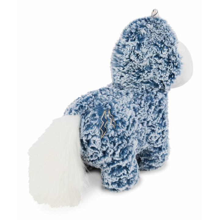 NICI Einhorn Snorre Hornson (32 cm, Weiss, Blau)