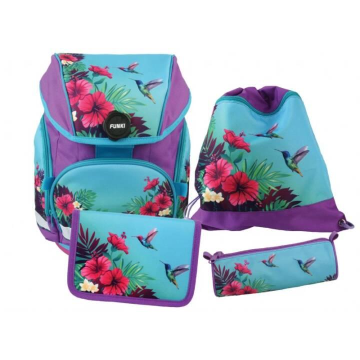 Ensemble de sacs d'école tropicaux FUNKI