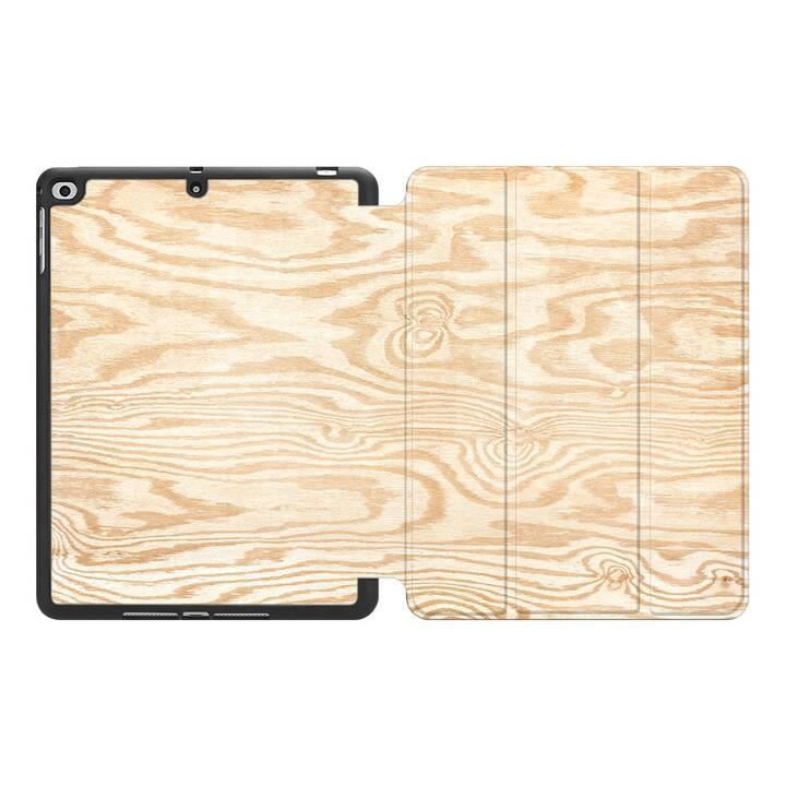 """EG MTT Custodia per Apple iPad Pro 2017 10.5"""" - Venatura del legno"""