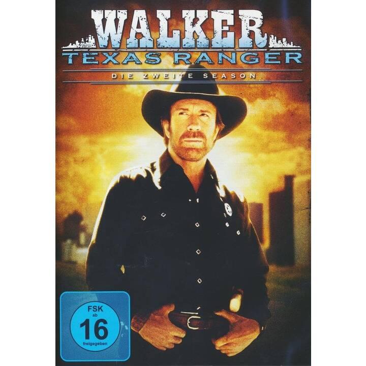 Walker Texas Ranger Staffel 2 (EN, FR, DE)