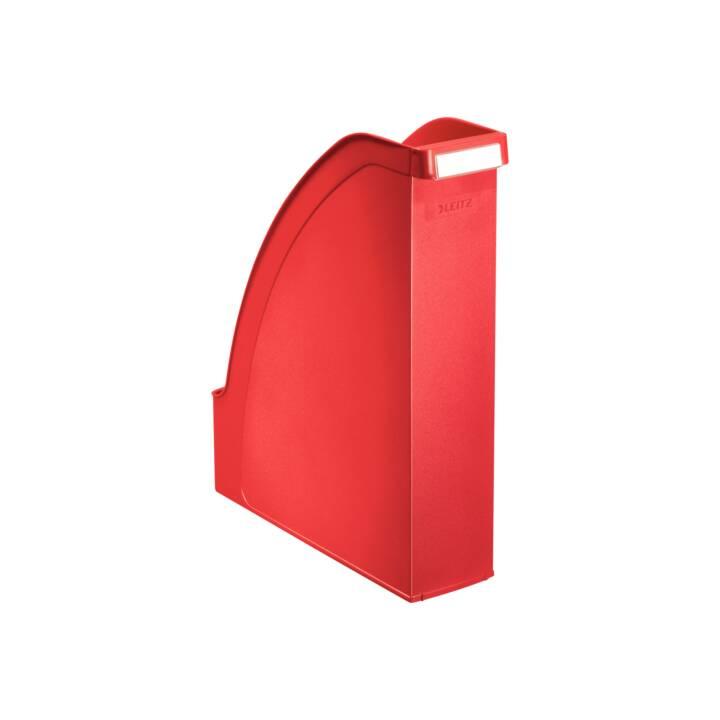 LEITZ collecteur sur pied A4 rouge