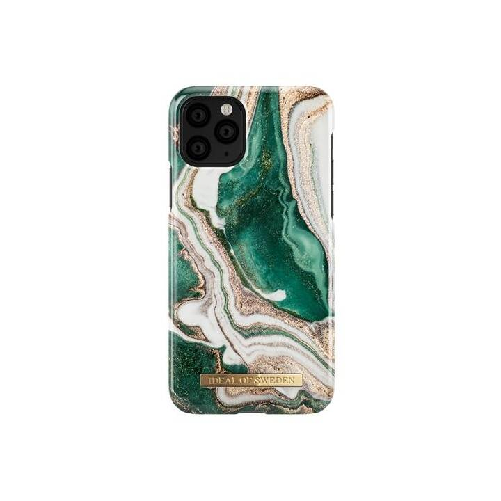 IDEAL OF SWEDEN Backcover Golden Jade Marble (iPhone 11 Pro, Multicolore)