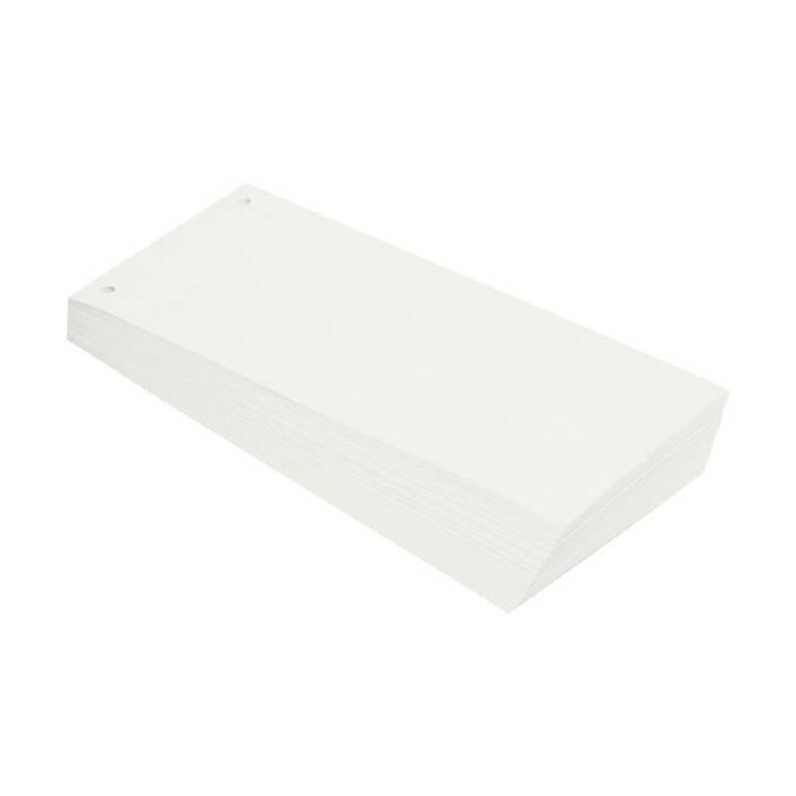 Fascia divisoria BÜROLINE bianca 100 pezzi