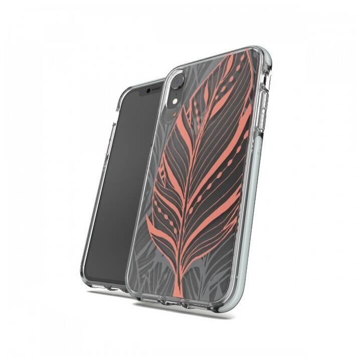 GEAR4 Cover posteriore D3O Victoria iPhone XR Tribal Leaf D3O Victoria iPhone XR