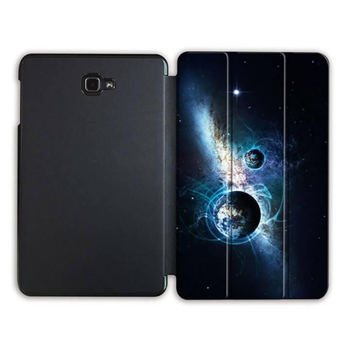 """EG MTT Sacoche à comprimés avec housse Smart Foldable pour Samsung Galaxy Tab A 10.1"""" (2016) MTT - Universe"""