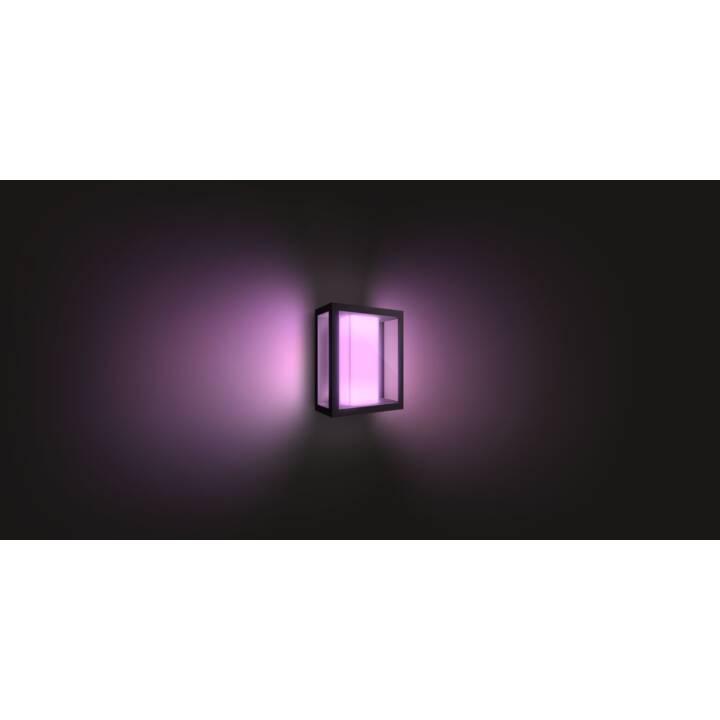 PHILIPS HUE Impress Luminaire mural (LED incorporé, 16 W, Noir)
