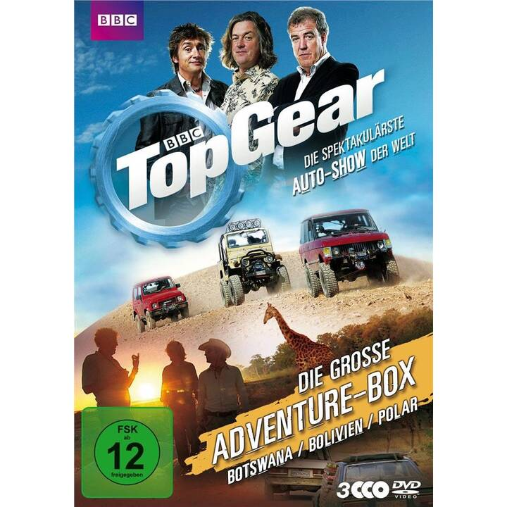 Top Gear - Die grosse Adventure-Box (DE, EN)