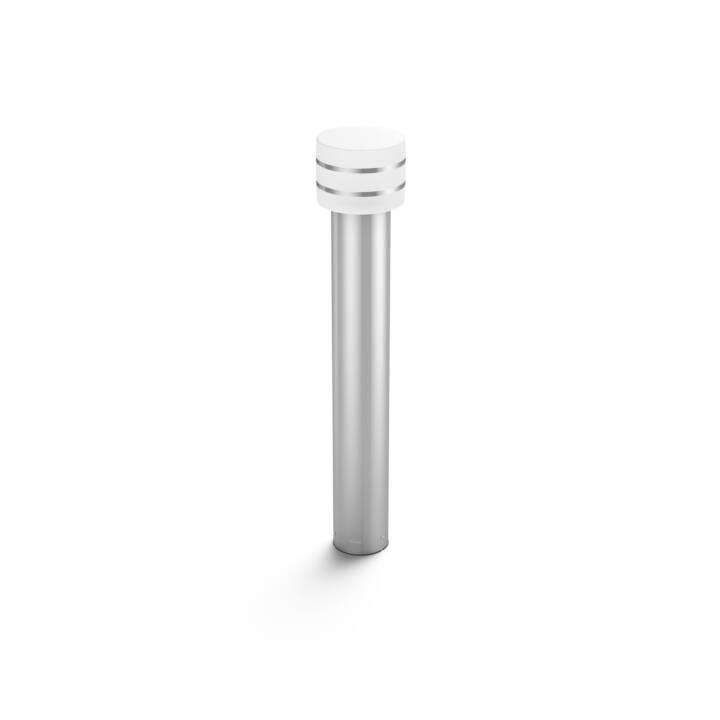 PHILIPS HUE Tuar Bornes lumineuses (LED incorporé, 9.5 W, Argent)