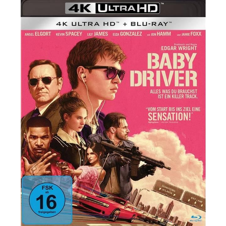 Baby Driver (4K Ultra HD, DE)
