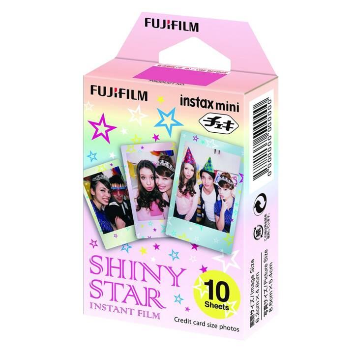 FUJIFILM Mini film instantané brillant Star Instax, 10 feuilles