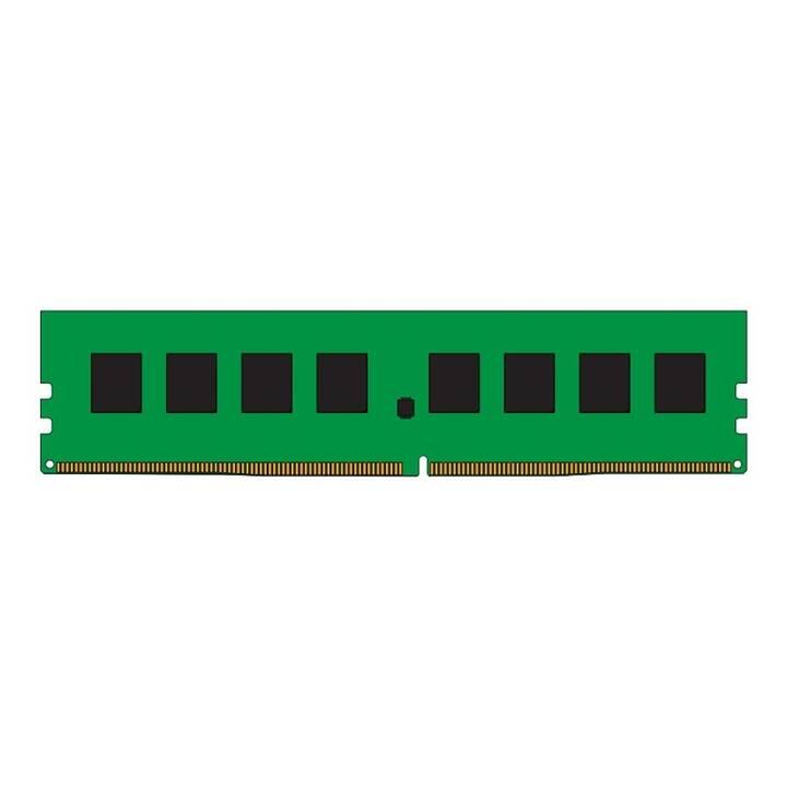 KINGSTON TECHNOLOGY ValueRAM (1 pièce, 8 Go, DDR4-SDRAM, DIMM 288-Pin)