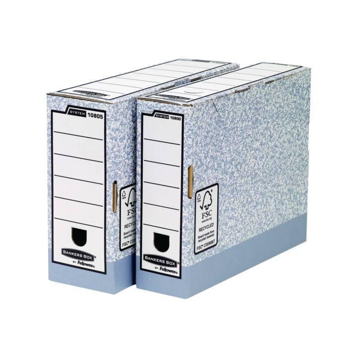 FELLOWES Boîte d'archives Boîte à banquiers Boîte à banquiers