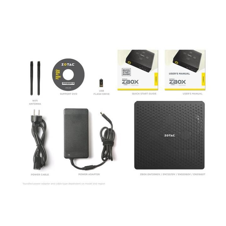 ZOTAC ZBOX MAGNUS EN72080V (Intel Core i7 9750H, 0 GB, 0 GB HDD)