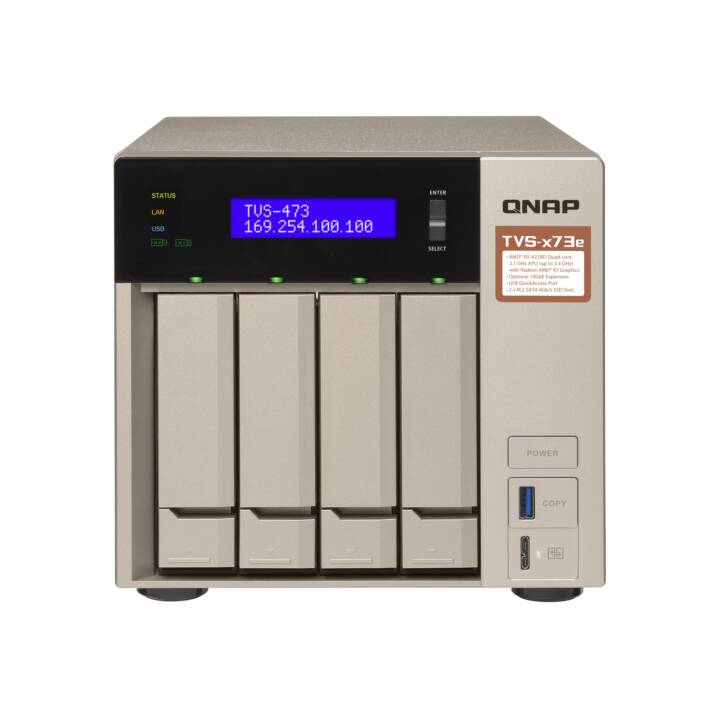 QNAP TVS-473e (0 GB)