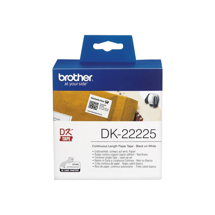 BROTHER 3,8 cm x 30,5 m Etichette