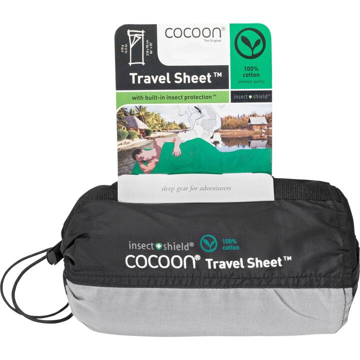 COCOON Inlet Insect Shield TravelSheets Cotton