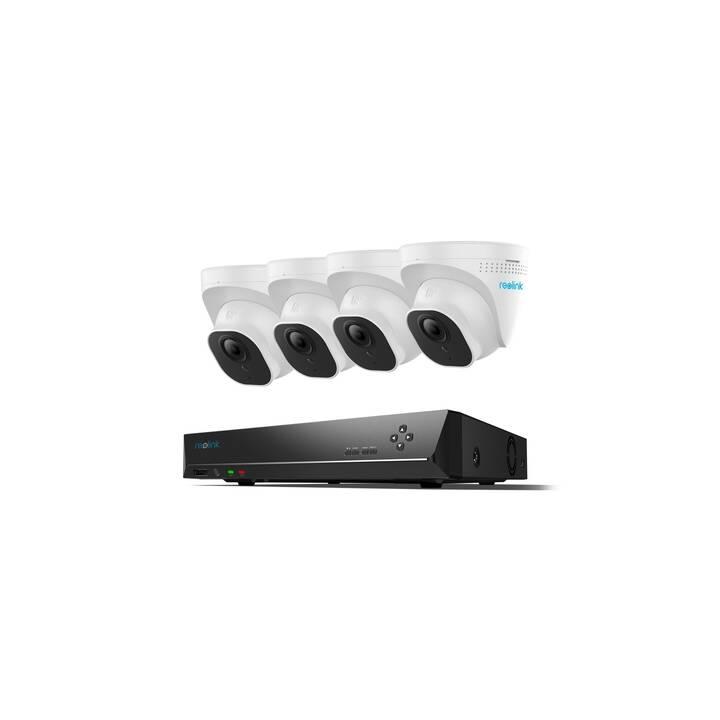 REOLINK Set di Telecamere di rete RLK8-520D4 (5 MP, Dome, Infrarosso, RJ-45)