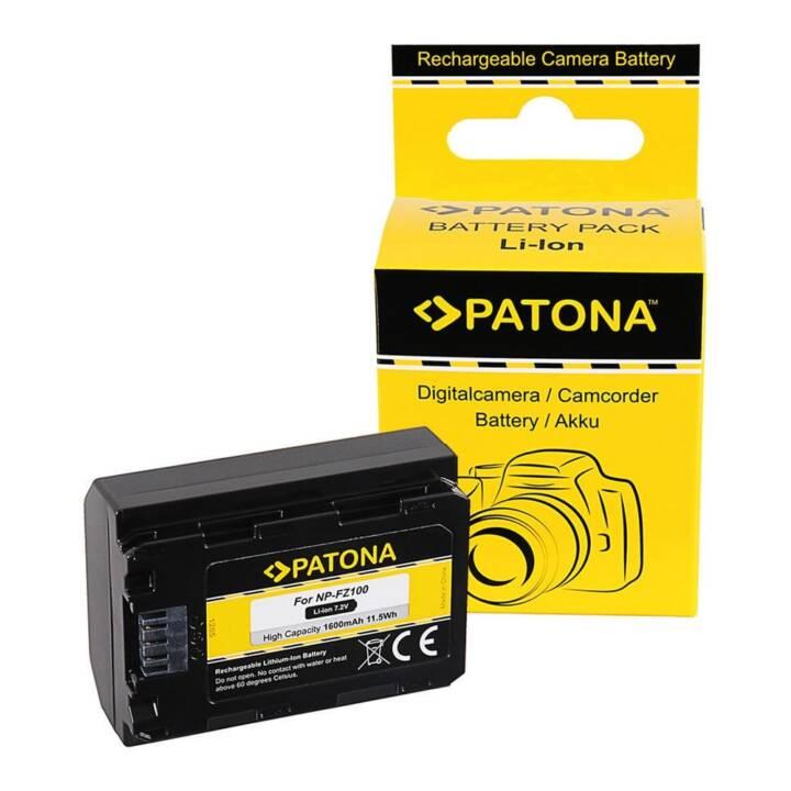 PATONA Akku für Sony NP-FZ100