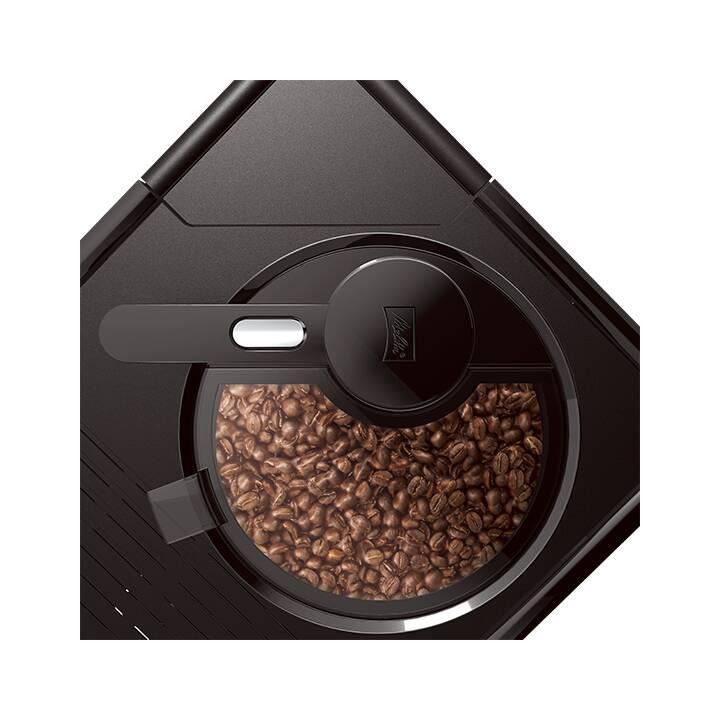 MELITTA Varianza (Nero, Acciaio inox, 1.2 l, Macchine caffè automatiche)
