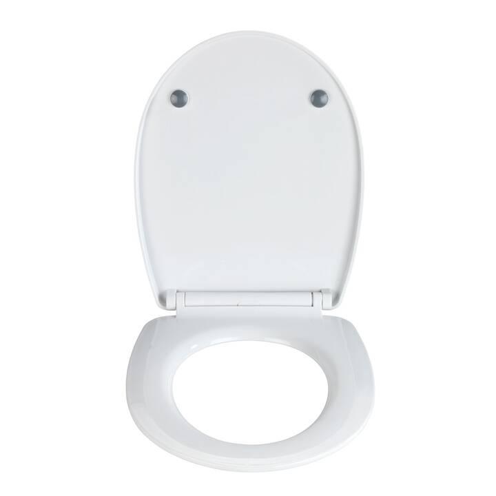 WENKO Sedile per WC Exclusive 5 (Bianco)