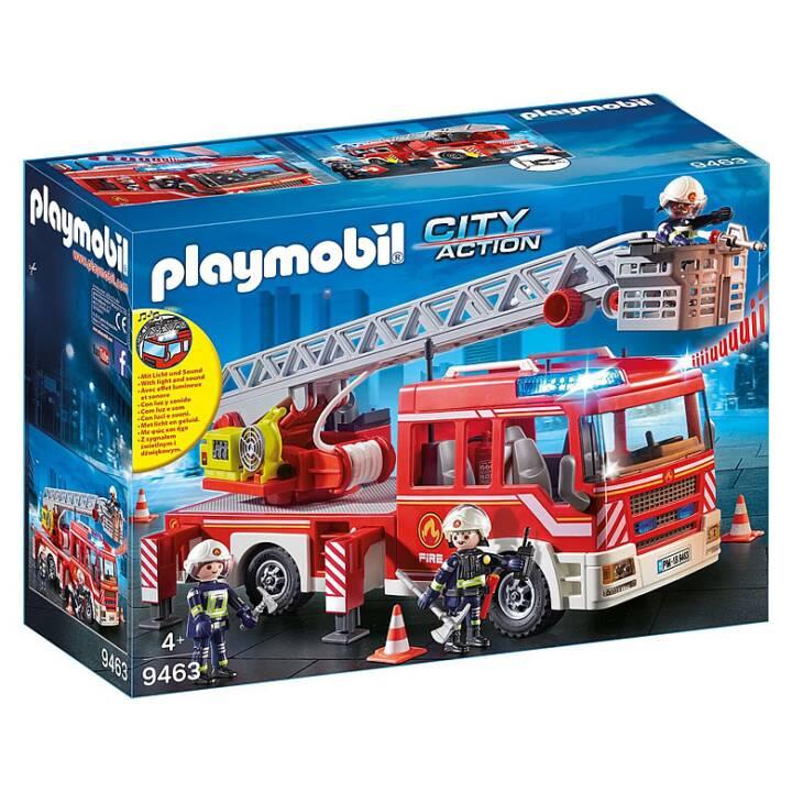 Véhicule à échelle des sapeurs-pompiers PLAYMOBIL (9463)