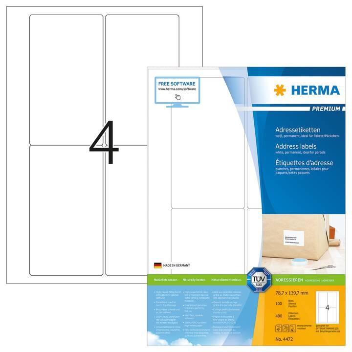 HERMA Premium Etichette (100 foglio, A4)