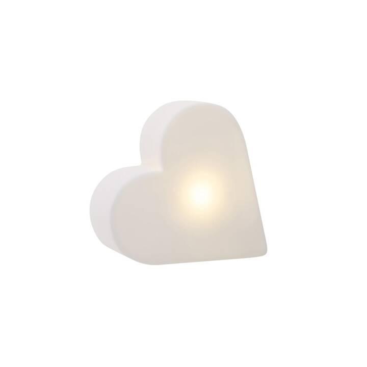 8 SEASONS DESIGN LED Stimmunglicht Shining Heart Micro XS (Weiss)