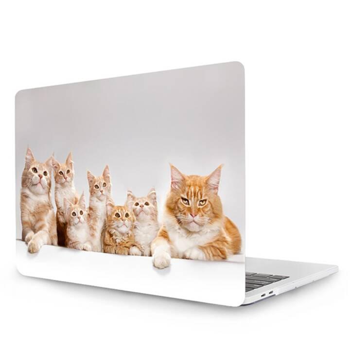 "EG MTT Cover pour MacBook Pro 13"" Touch Bar - Cats"