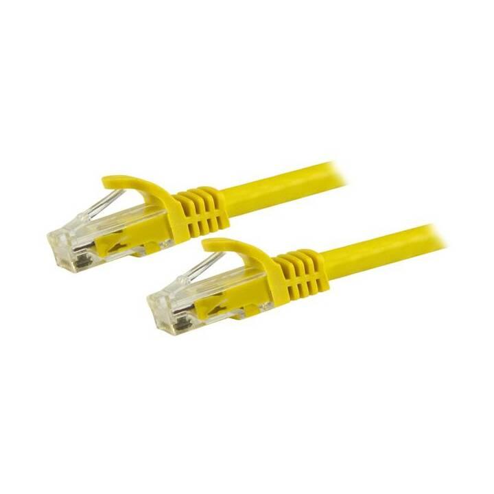 STARTECH.COM Patch-Kabel - 15 m - Gelb