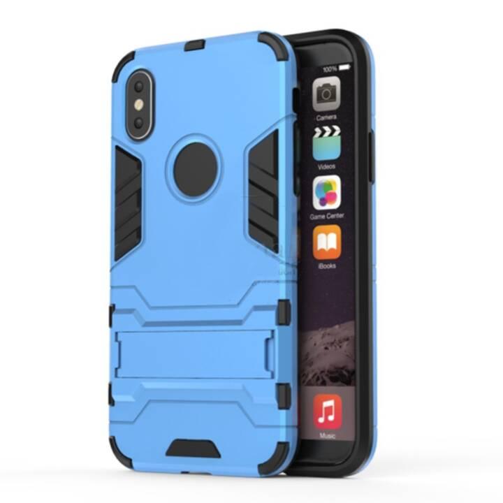 EG Backcover für iPhone X Blue