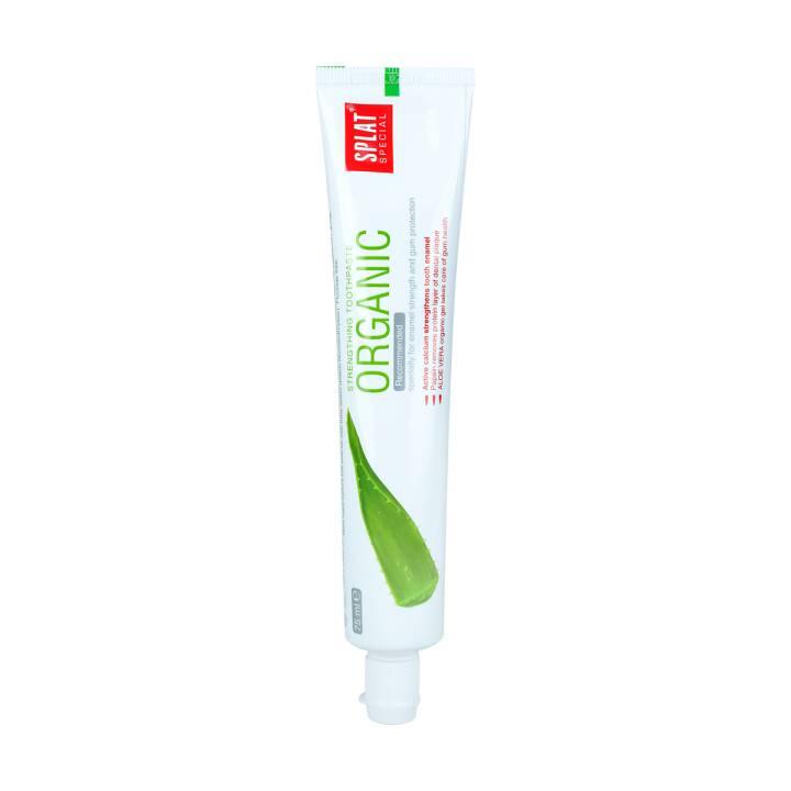 SPLAT Pâte dentifrice Aloe Vera Organic (75 ml)