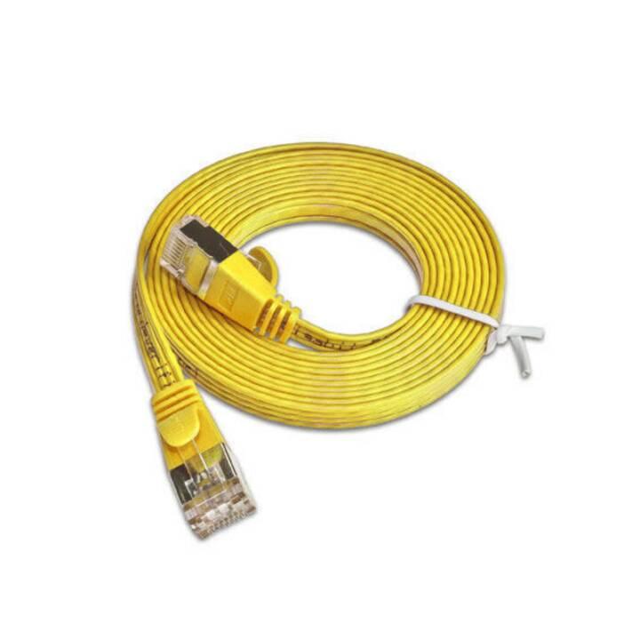 WIREWIN PKW-STP-SLIM-KAT6 1.0 GE Netzwerkkabel (RJ-45, 1 m)