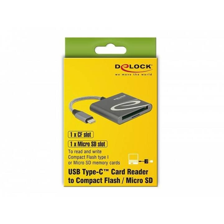 DELOCK 5000 Mbit/s Lecteurs de cartes (USB 3.0, USB 3.1)