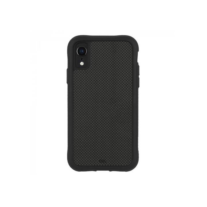 CASE-MATE Hardcase Carbon Fiber (iPhone XR, Schwarz)