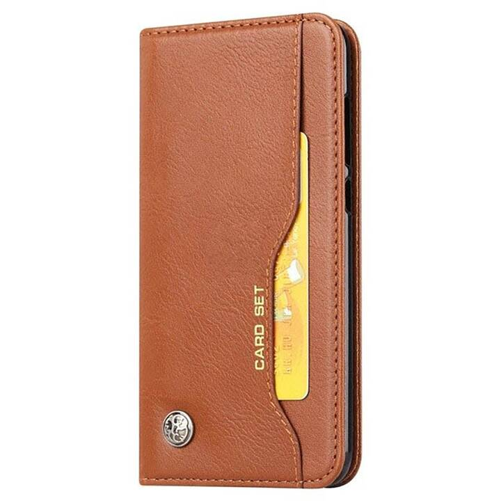 EG Mornrise Wallet Case für Xiaomi Mi A3 - Hellbraun
