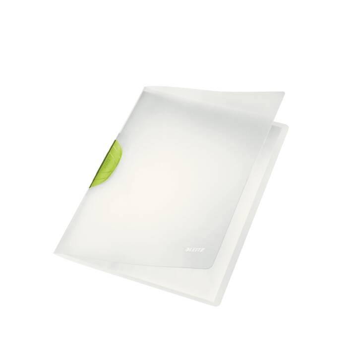Chemise à clip LEITZ Color Clip A4 vert foncé