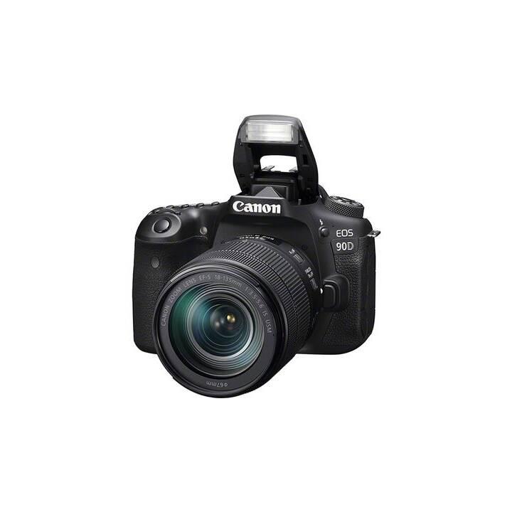 CANON EOS 90D + EF-S 18-135 mm f/3.5-5.6 IS USM Nano (32.5 MP, Bluetooth 4.1, WLAN)