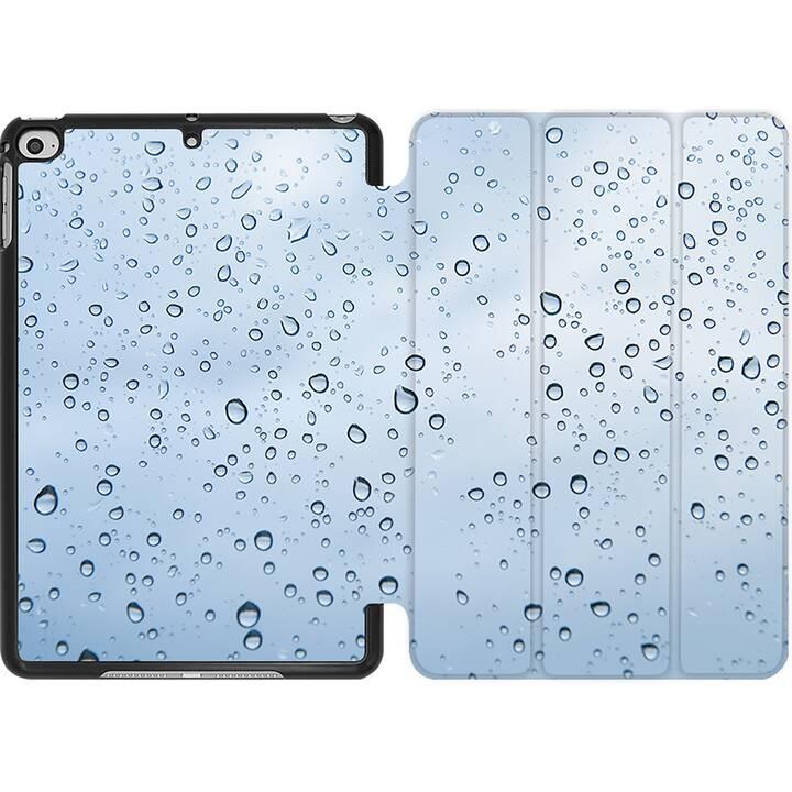EG MTT Coque pour iPad Mini 4 (2015) et Mini 5 (2019) - goutte de pluie