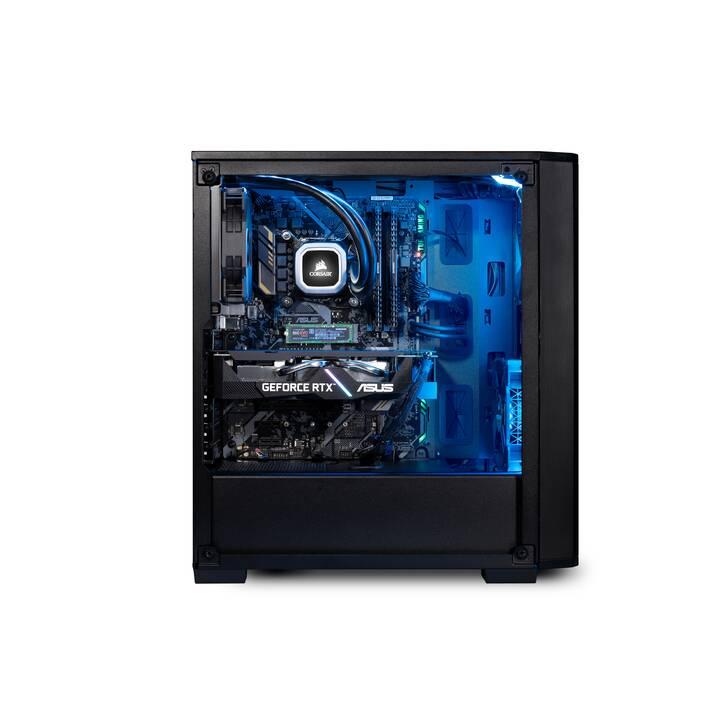 JOULE FORCE Nuke RTX3070 II7 U (Intel Core i7 10700F, 32 GB, 1 TB SSD, 2 To HDD)