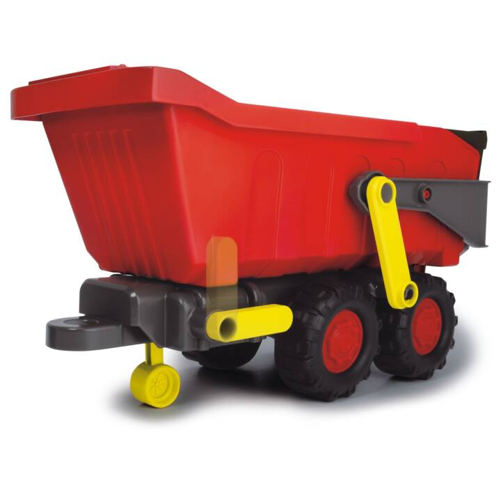 Dickie Toys Happy Farm Trailer Traktor Trecker inkl Anhänger Licht und Sound