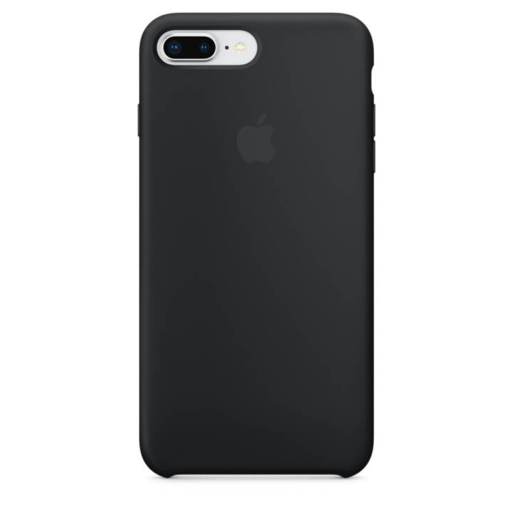 APPLE iPhone 8 Plus / 7 Plus Silikon Case Schwarz