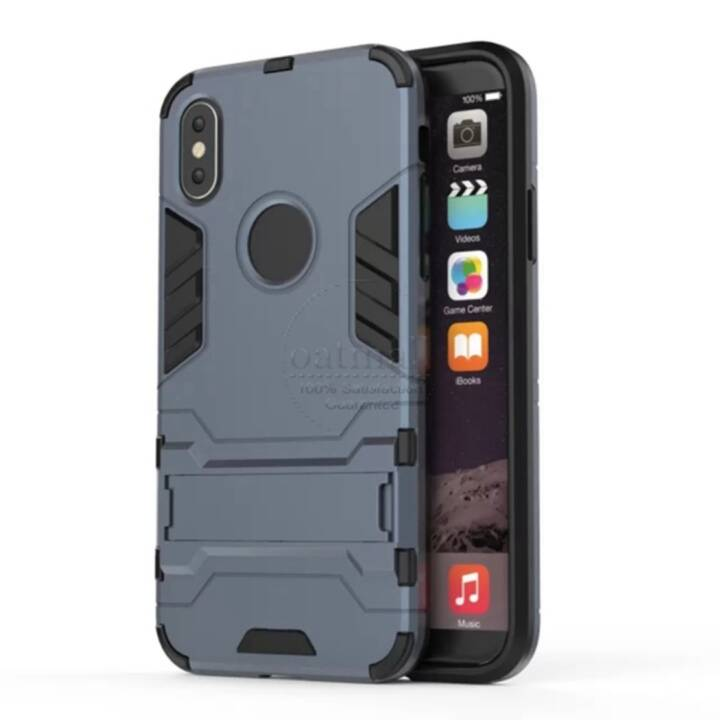 EG Backcover per iPhone X Blu