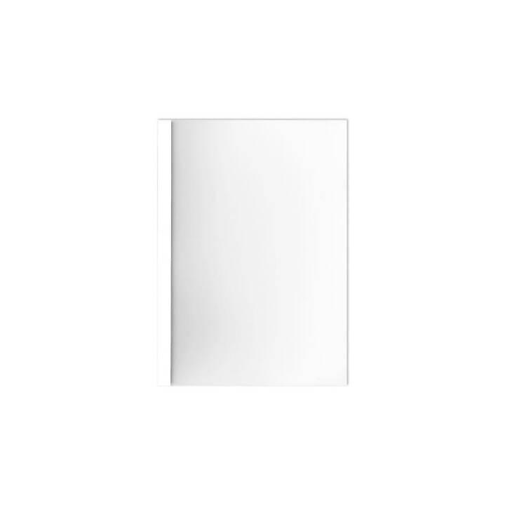 Cartella di rilegatura BÜROLINE 3 mm A4 bianco