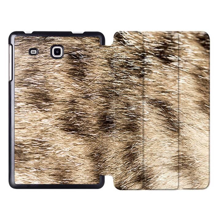 """EG MTT Tablet Tasche mit Smart faltbare Abdeckung für Samsung Galaxy Tab A A6 7 """"- Tierhaut"""