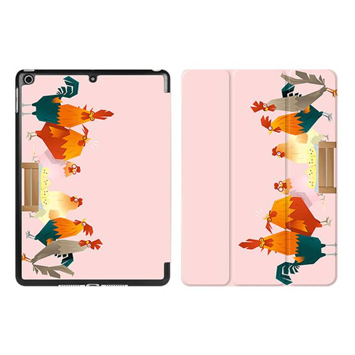 "EG iPad Sleeve pour Apple iPad 9.7"" 9.7"" 9.7"" - poulets cartoon rose"