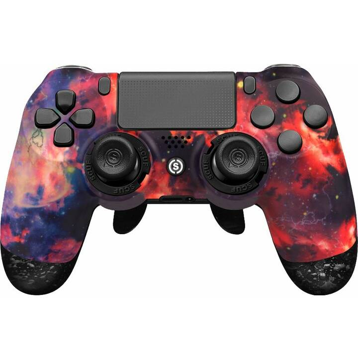 SCUF GAMING Infinity 4PS Pro - Starstorm Gamepad (Rot, Violett)