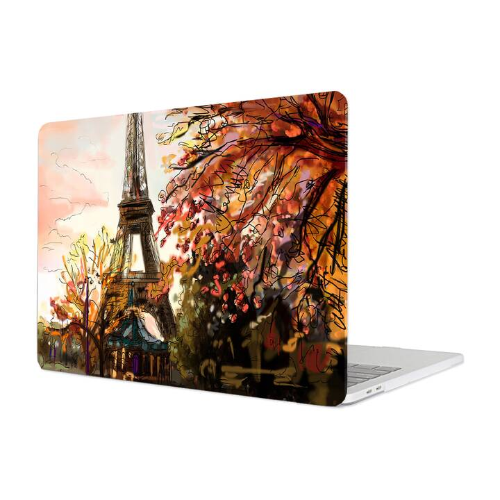 "EG MTT Cover für Macbook Pro 13"" Touchbar (2016 - 2018) - Sketch Paris"